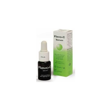 FLAVO - C SERUM DE VITAMINA C PURA ESTABILIZADA Y EXTRACTO DE GINGKO BILOBA 15 ML
