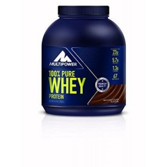 MULTIPOWER 100% PURE WHEY PROTEIN 2000GR SABOR CHOCOLATE.