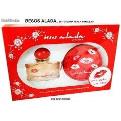 COLONIA MUJER BESOS ALADA 75 ML